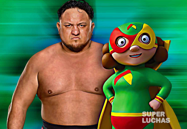 Samoa Joe y Mama Lucha
