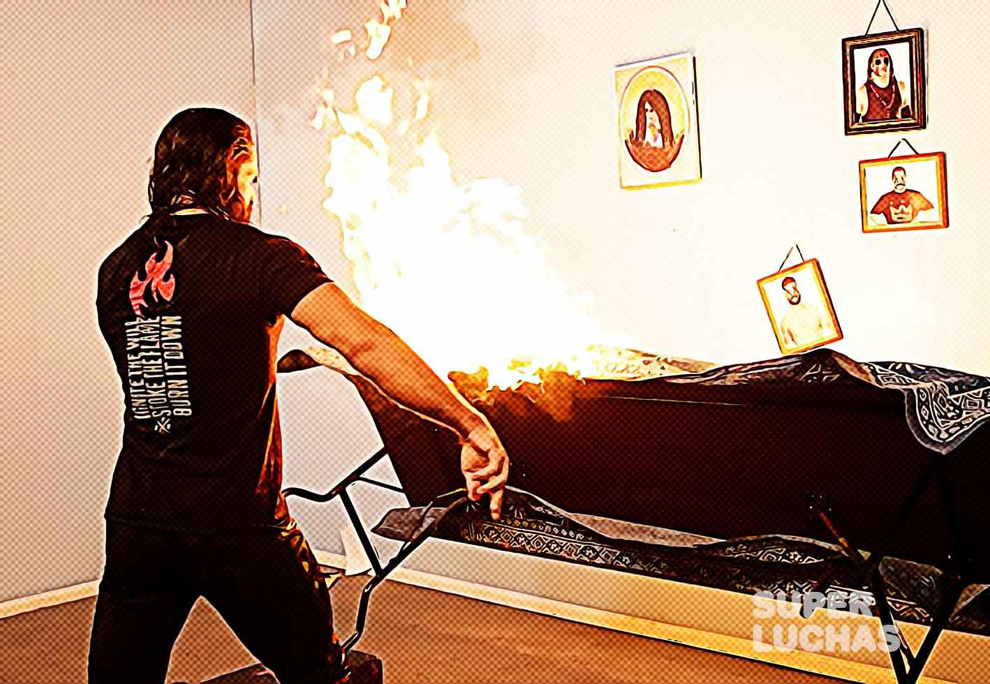 Seth Rollins Firefly Fun House