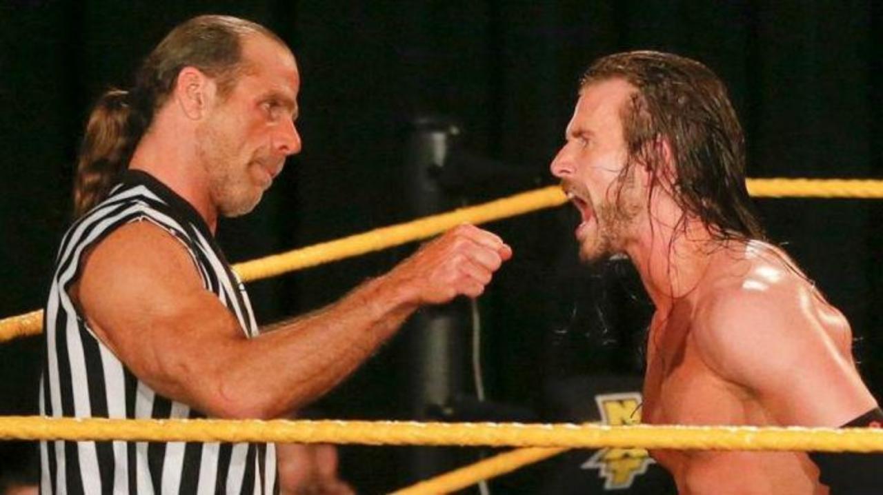 Shawn Michaels y Adam Cole