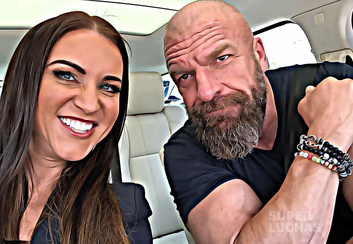 Stephanie McMahon y Triple H