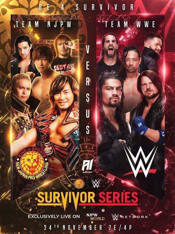 WWE trató de comprar NOAH Team NJPW vs Team WWE