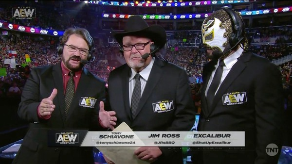 Jim Ross racista AEW