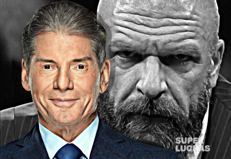 Triple H y Vince McMahon