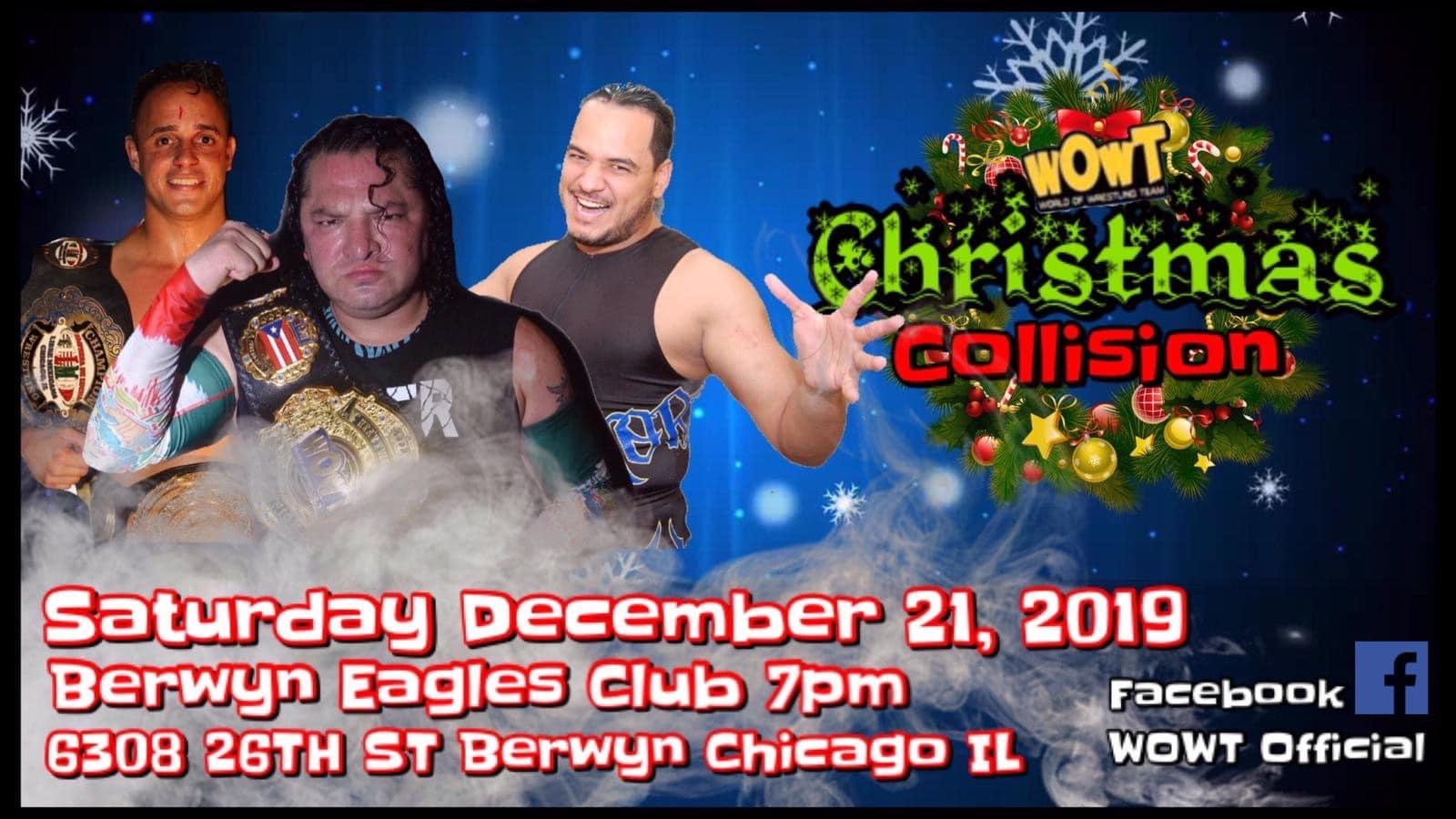 WOWT presenta Christmas Collision - Super Crazy en Triple Amenaza 1