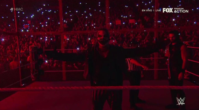 WWE HELL IN A CELL (6 de octubre 2019) | Resultados en vivo | Rollins vs. The Fiend 58