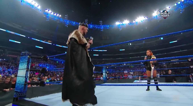 Sorprendente presentación de The Rock en SmackDown en FOX 4