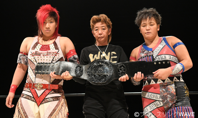 "WAVE: ""Saturday Night Fever 2019"" Takumi Iroha se aferra a su cinturón 6"
