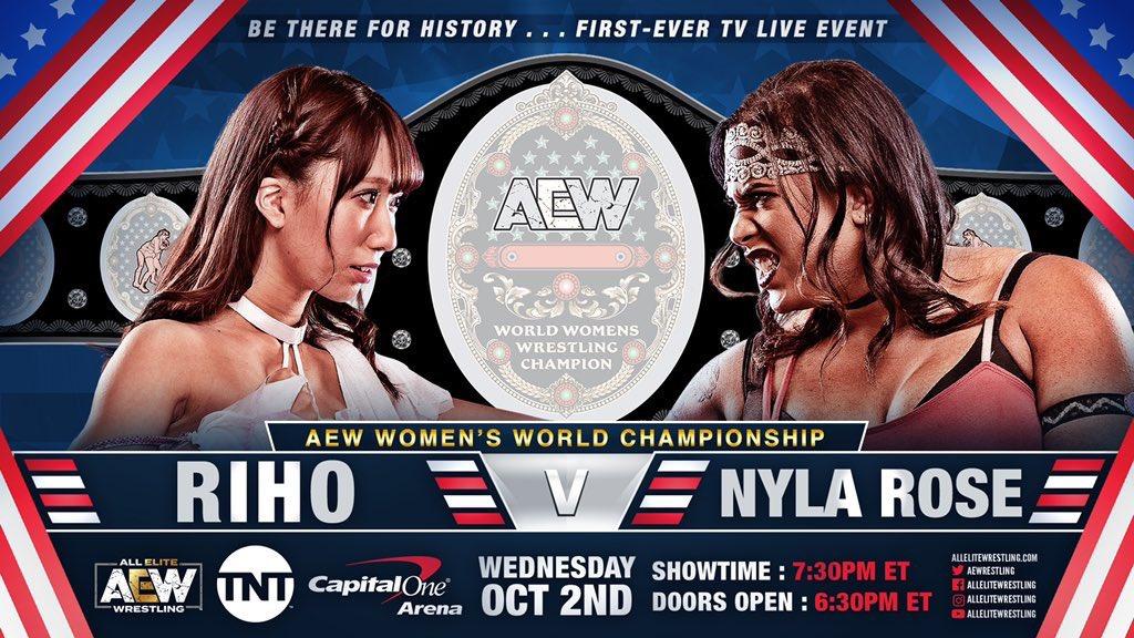 AEW Dynamite (2 de octubre 2019)   Resultados en vivo   El inicio de una era 24