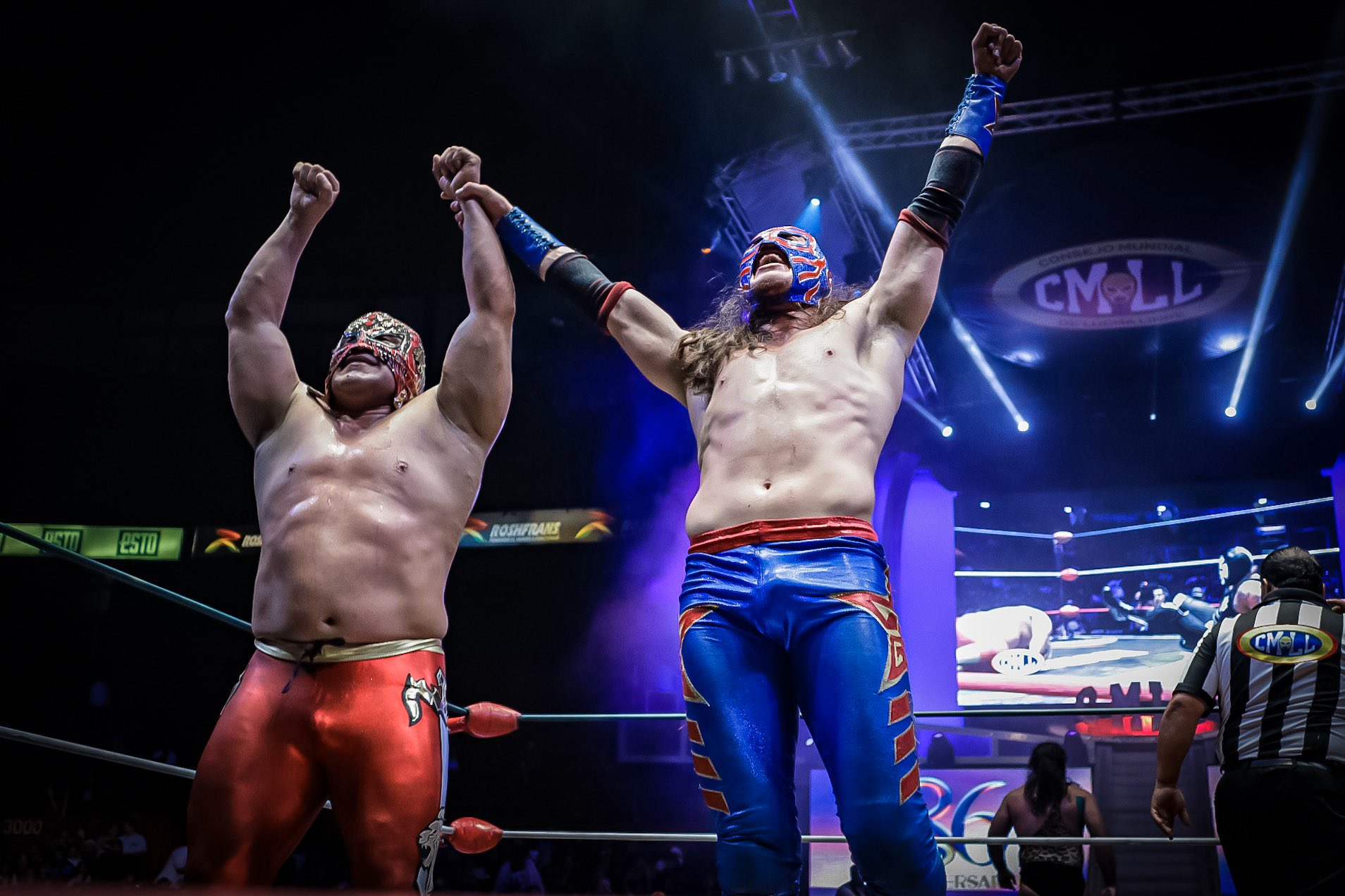 CMLL: Star Jr. y Valiente, segundos finalistas de la Gran Alternativa 1