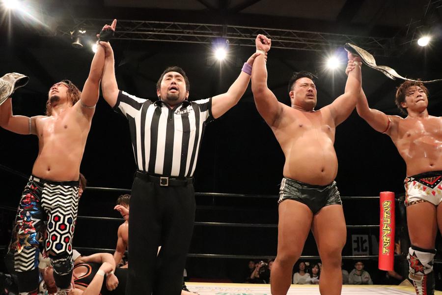 """DDT: """"Sapporo New Legend 2019"""" All Out retiene título de tercias 8"""