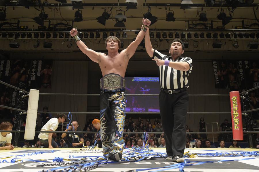 "DDT: ""Who's Gonna Top? 2019"" HARASHIMA campeón extremo 9"