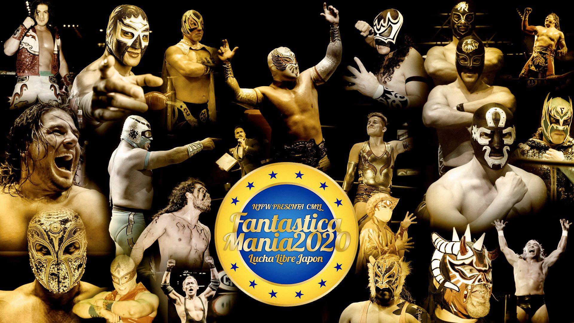 NJPW/CMLL: Los participantes para Fantasticamania 2020 22