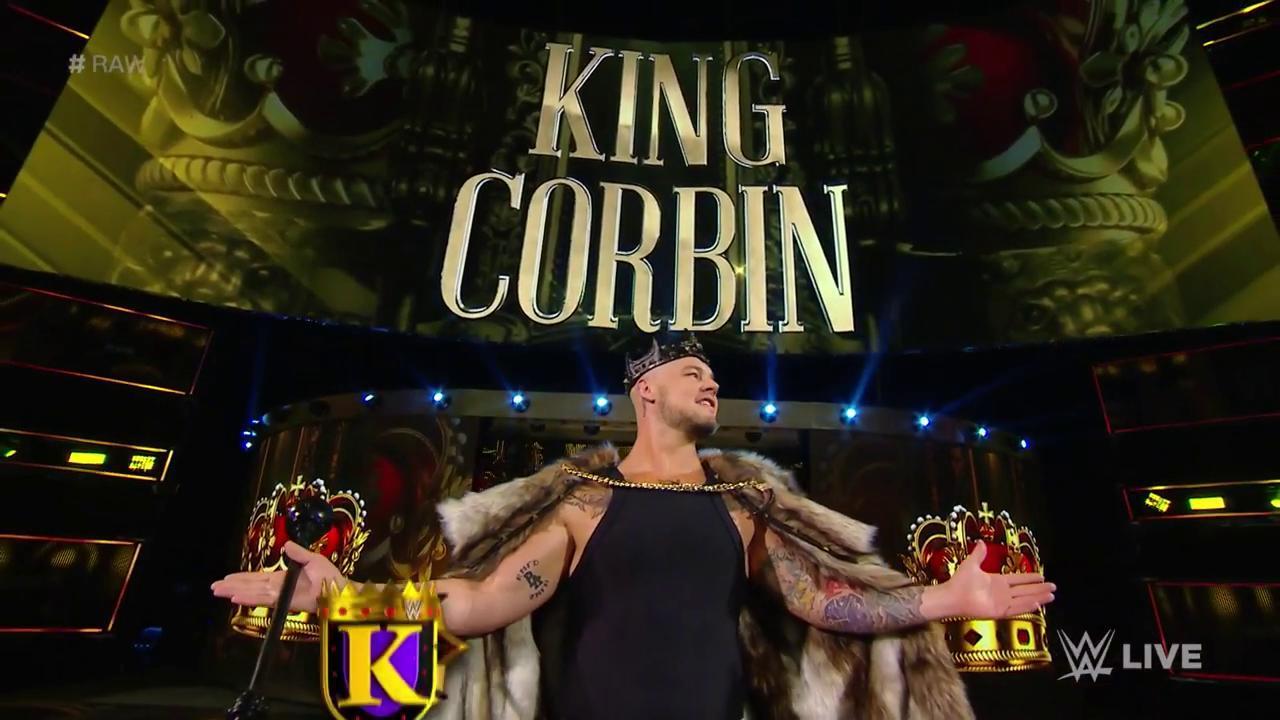 Reigns vs Corbin en TLC 2019