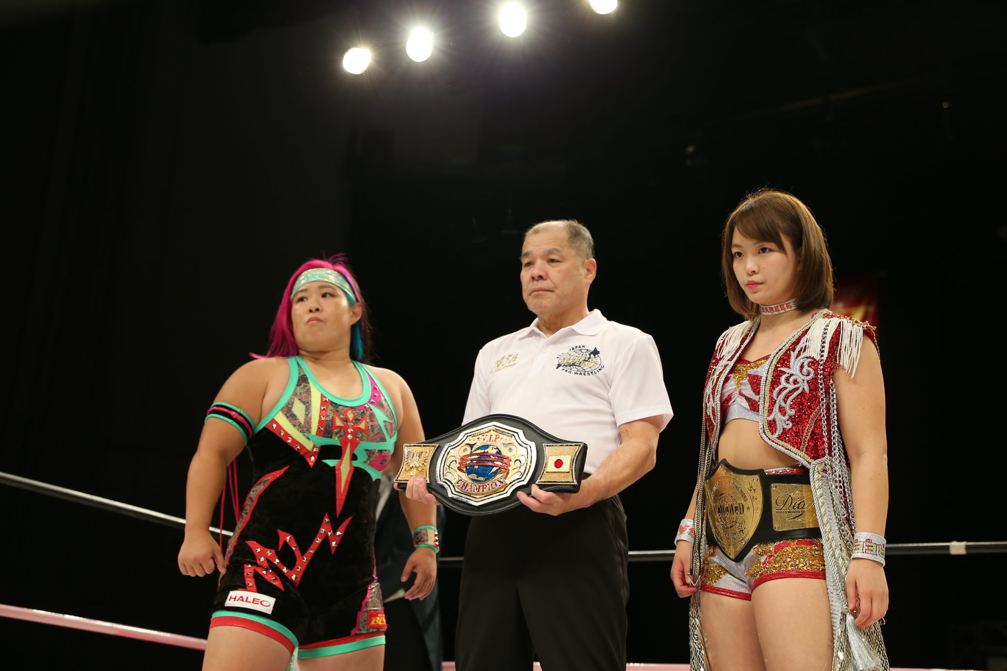 "Sendai Girls: ""Big Show in Sendai"" Chichiro Hashimoto se corona 5"