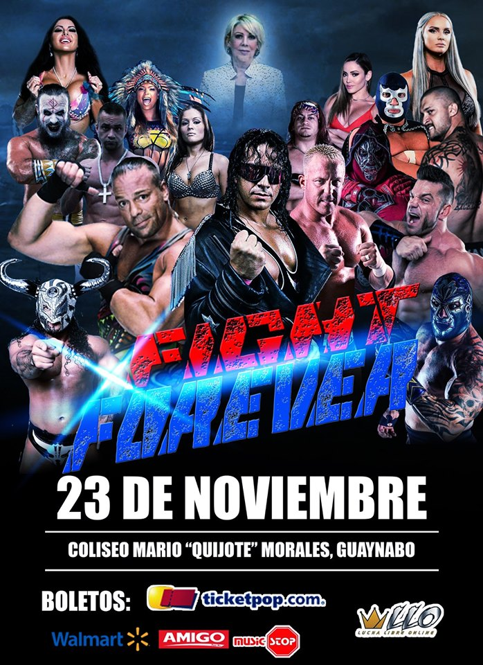 Fight Forever tributo a Bret Hart en Puerto Rico 2