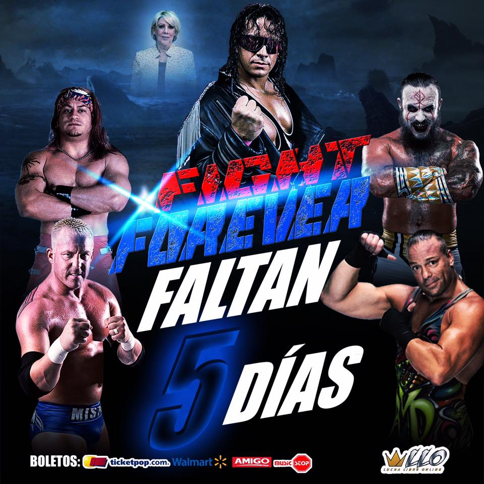 Fight Forever Tributo a Bret The Hitman Hart - RVD frente a Mil Muertes 1