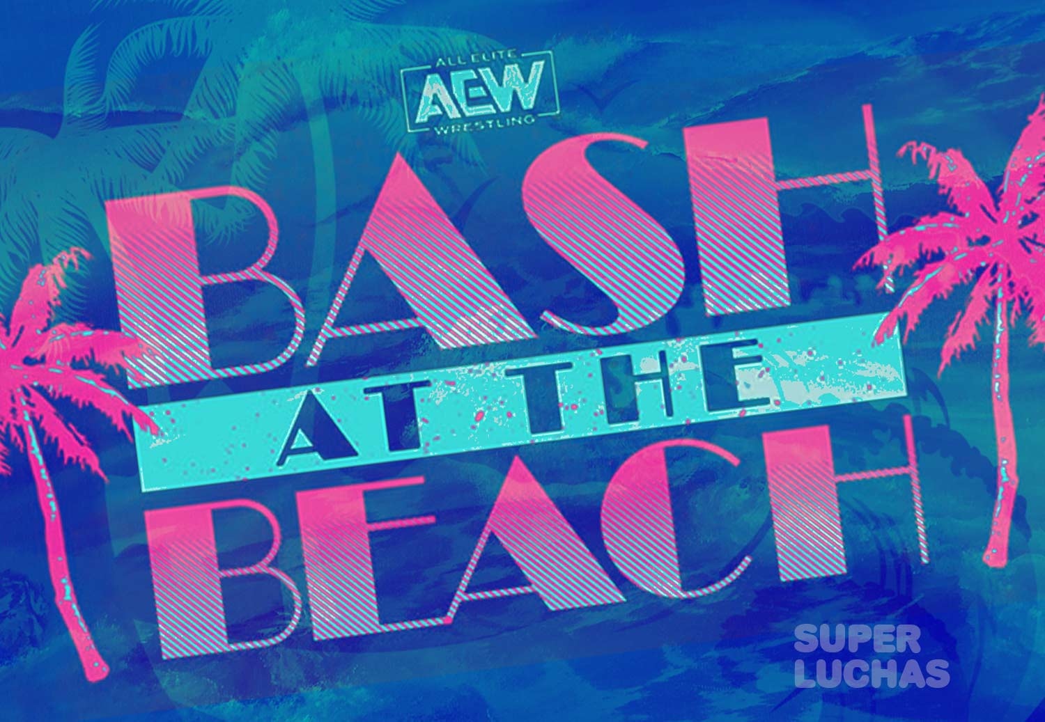 Cartel de Bash at the Beach