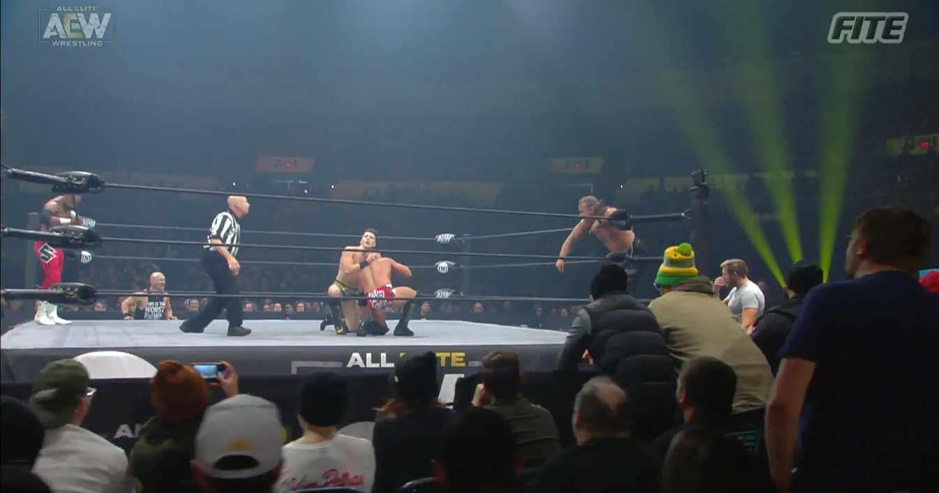 AEW DYNAMITE (13 de noviembre 2019) | Resultados en vivo | SCU vs. Chris Jericho y Guevara 28