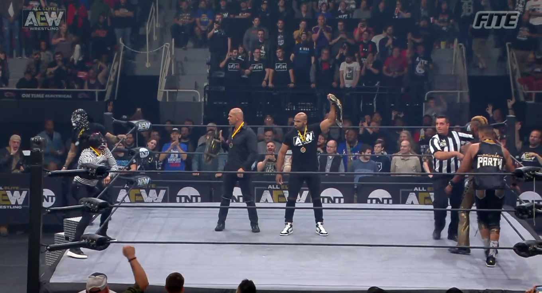 AEW DYNAMITE (6 de noviembre 2019) | Resultados en vivo | Omega y Hangman vs. Jericho y Guevara 10