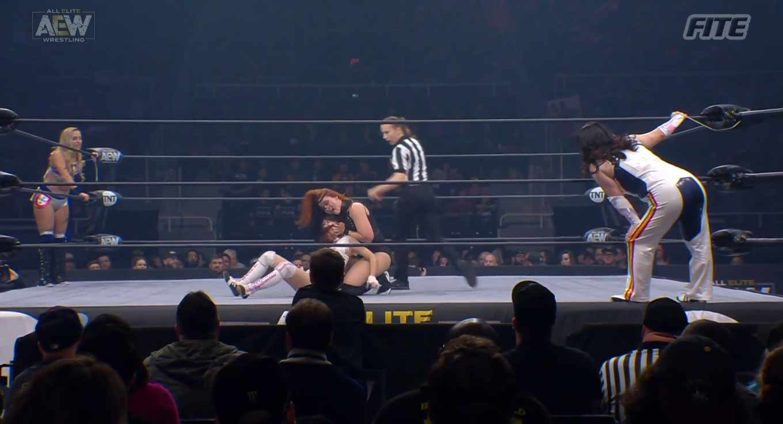 AEW DYNAMITE (6 de noviembre 2019) | Resultados en vivo | Omega y Hangman vs. Jericho y Guevara 15