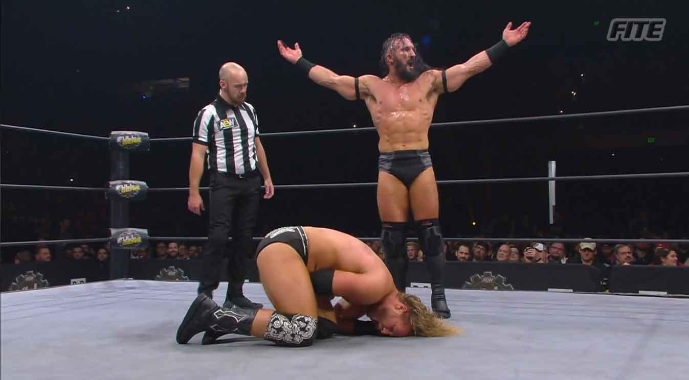 AEW FULL GEAR (9 de noviembre 2019)   Resultados en vivo   Chris Jericho vs. Cody 34