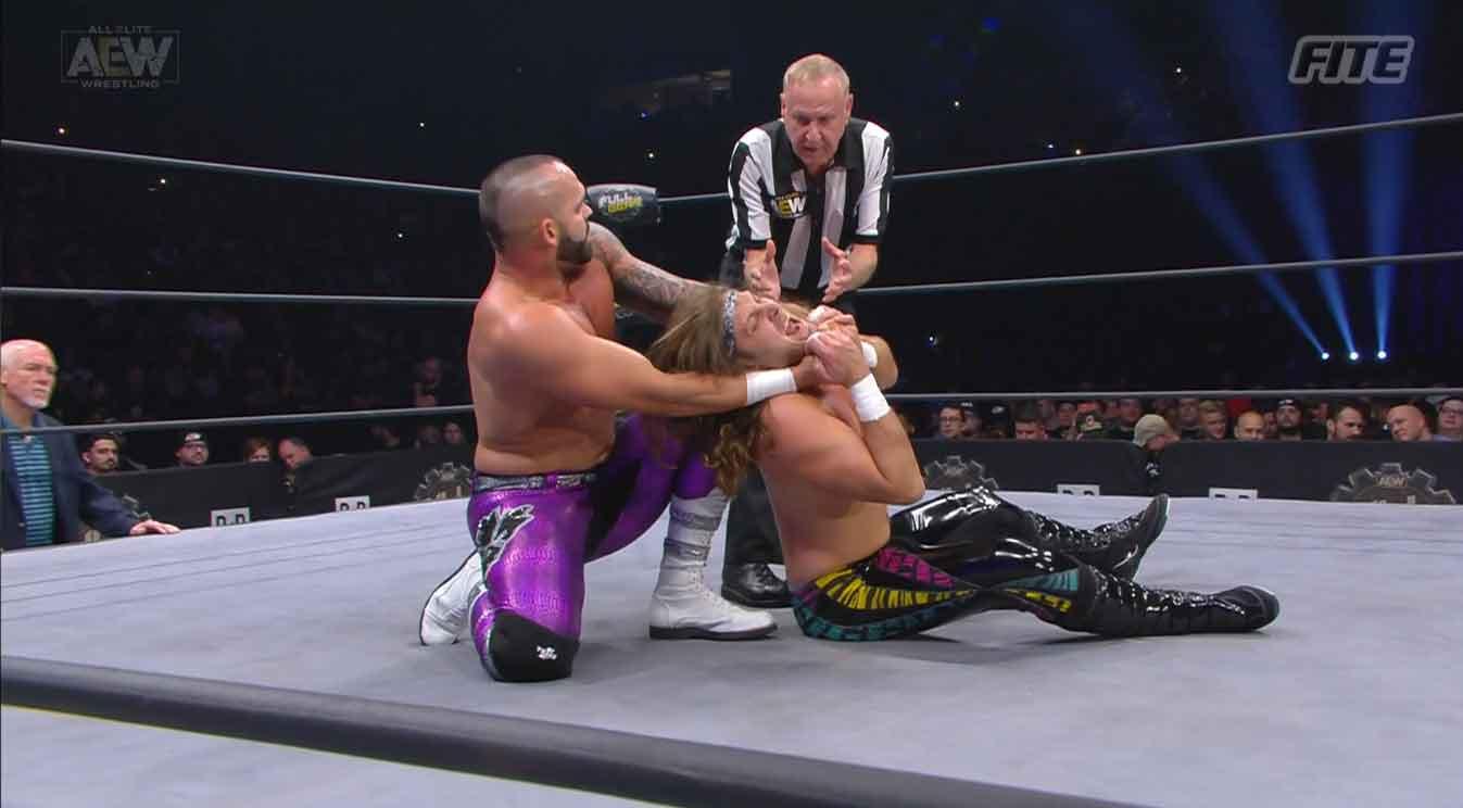 AEW FULL GEAR (9 de noviembre 2019)   Resultados en vivo   Chris Jericho vs. Cody 41
