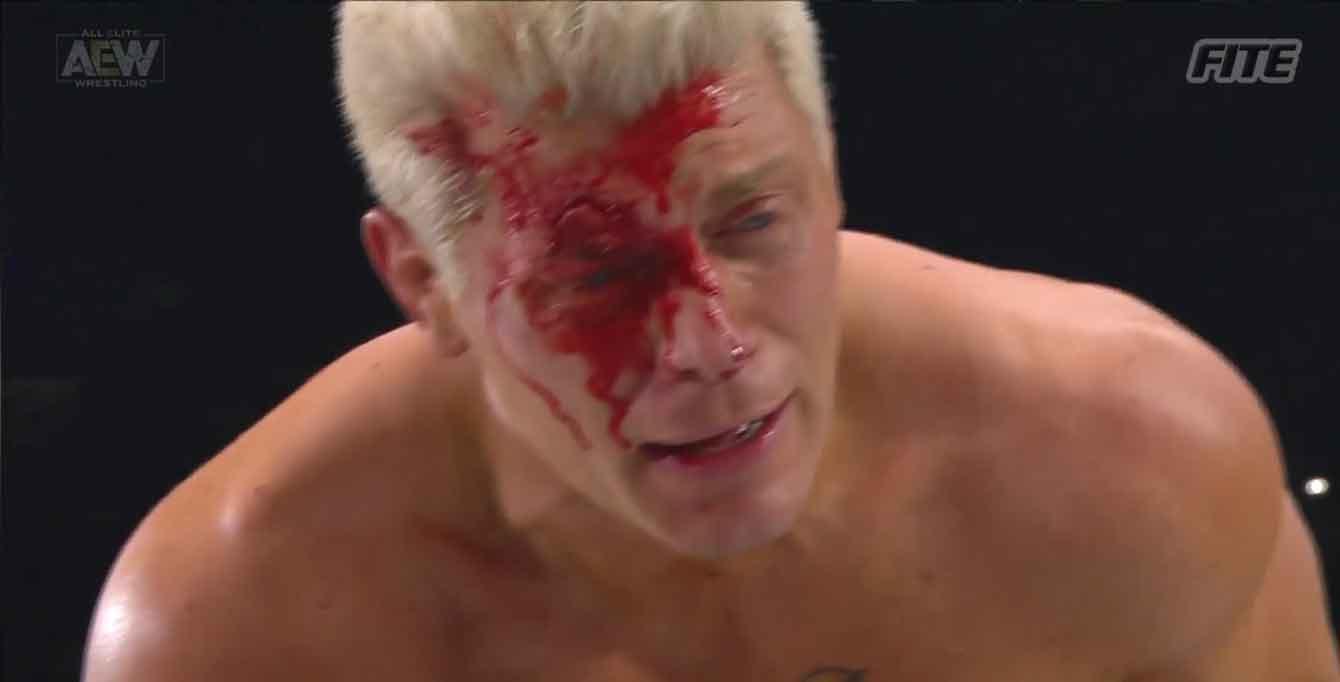 AEW FULL GEAR (9 de noviembre 2019)   Resultados en vivo   Chris Jericho vs. Cody 74