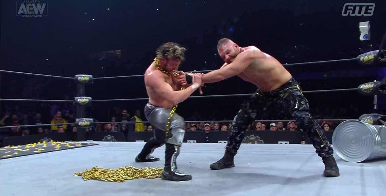 AEW FULL GEAR (9 de noviembre 2019)   Resultados en vivo   Chris Jericho vs. Cody 100