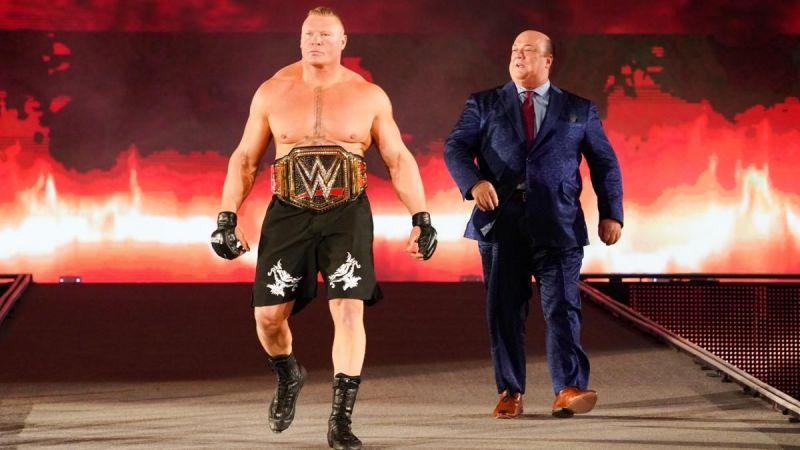 Brock Lesnar retiene el Campeonato WWE