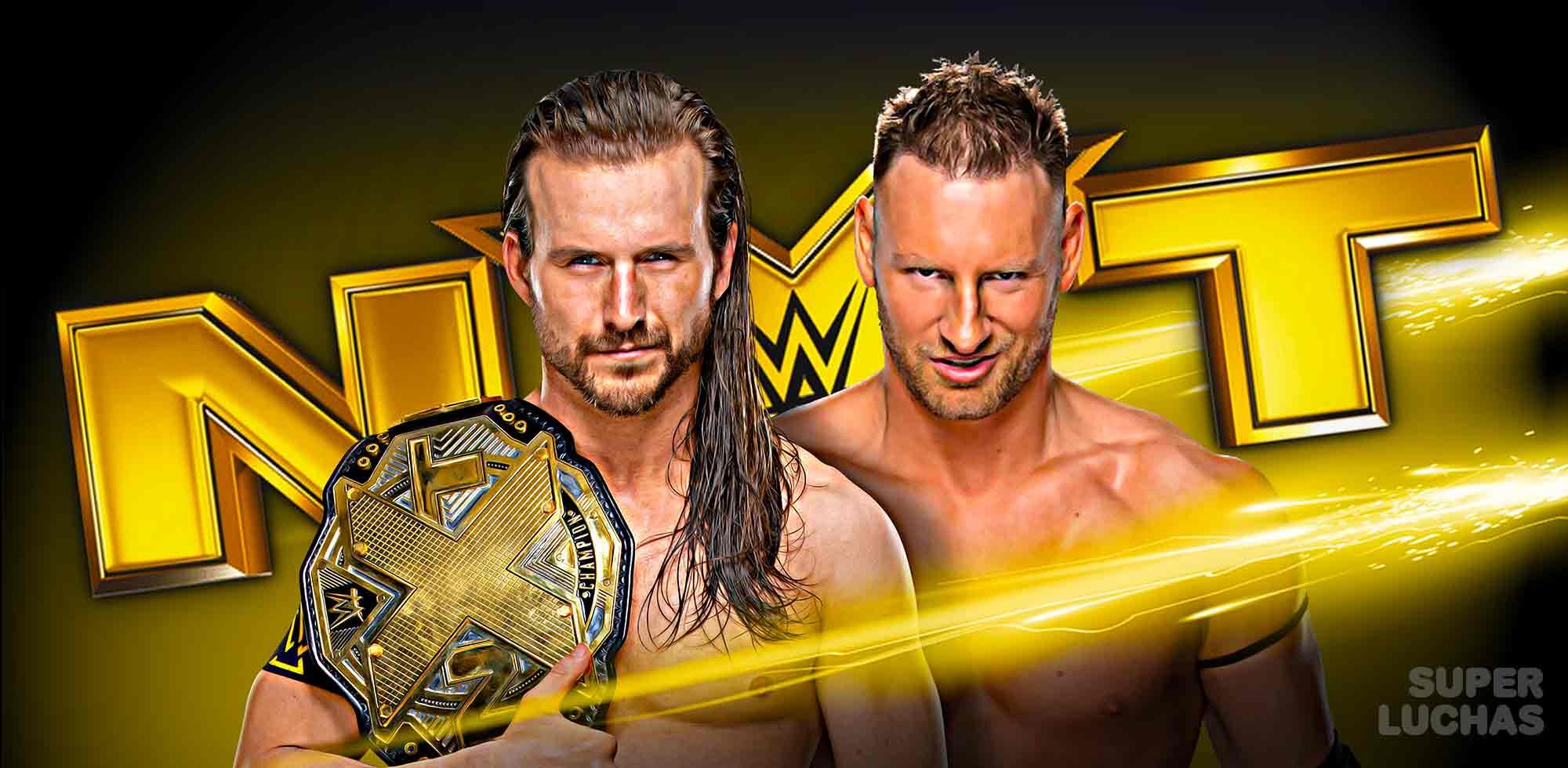 Resultados NXT 20 de noviembre 2019