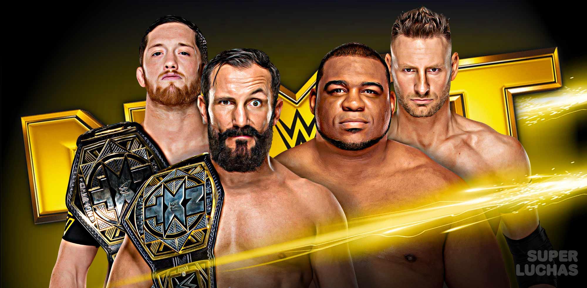 Resultados NXT 27 de noviembre 2019