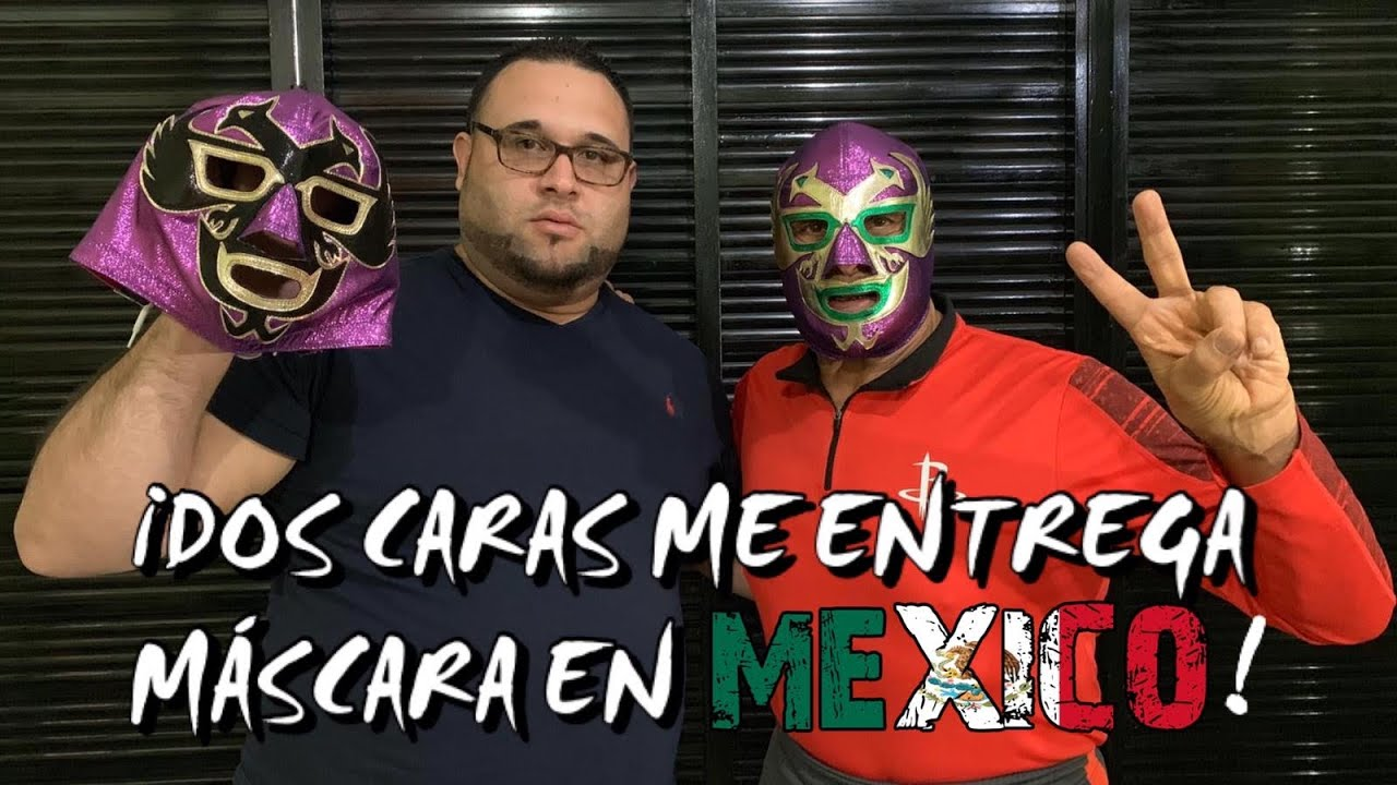 Lucha Vlogs #23 | ¡Dos Caras me entrega Máscara en México! 4