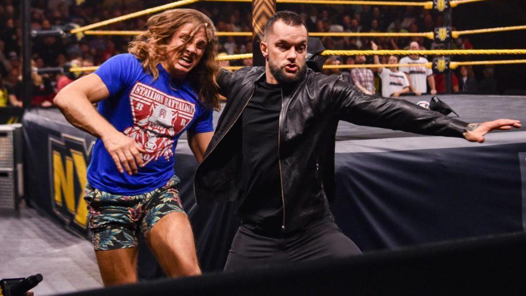 regreso a NXT de Finn Bálor