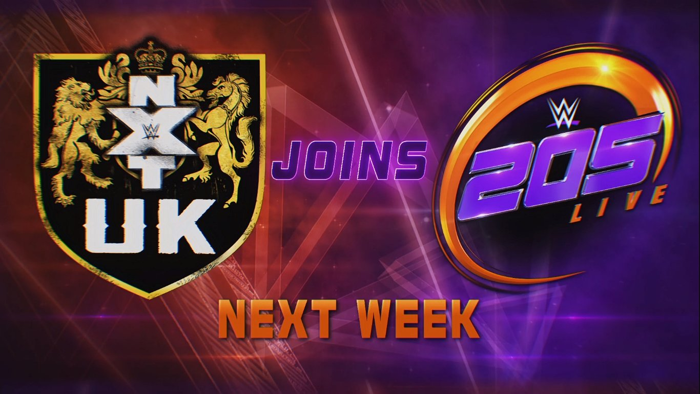 NXT UK 205 Live