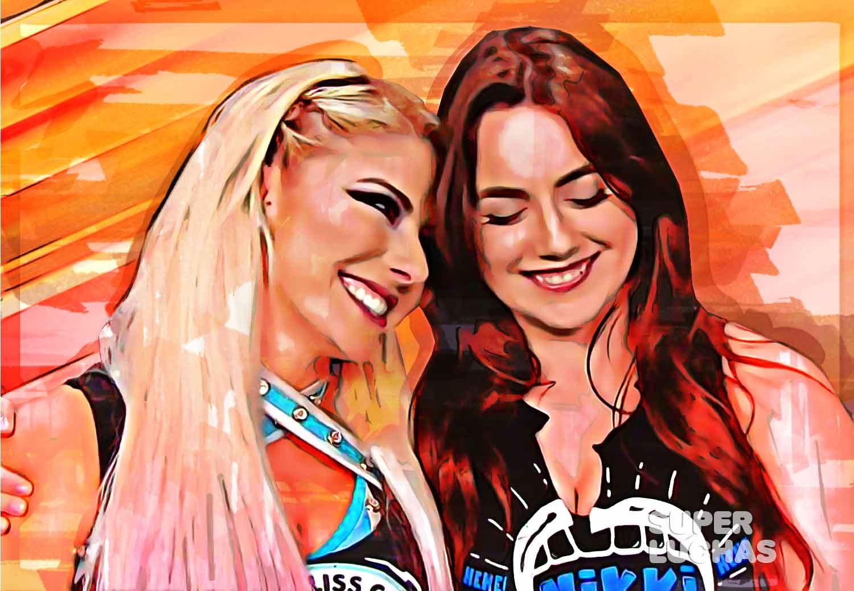 Nikki Cross y Alexa Bliss
