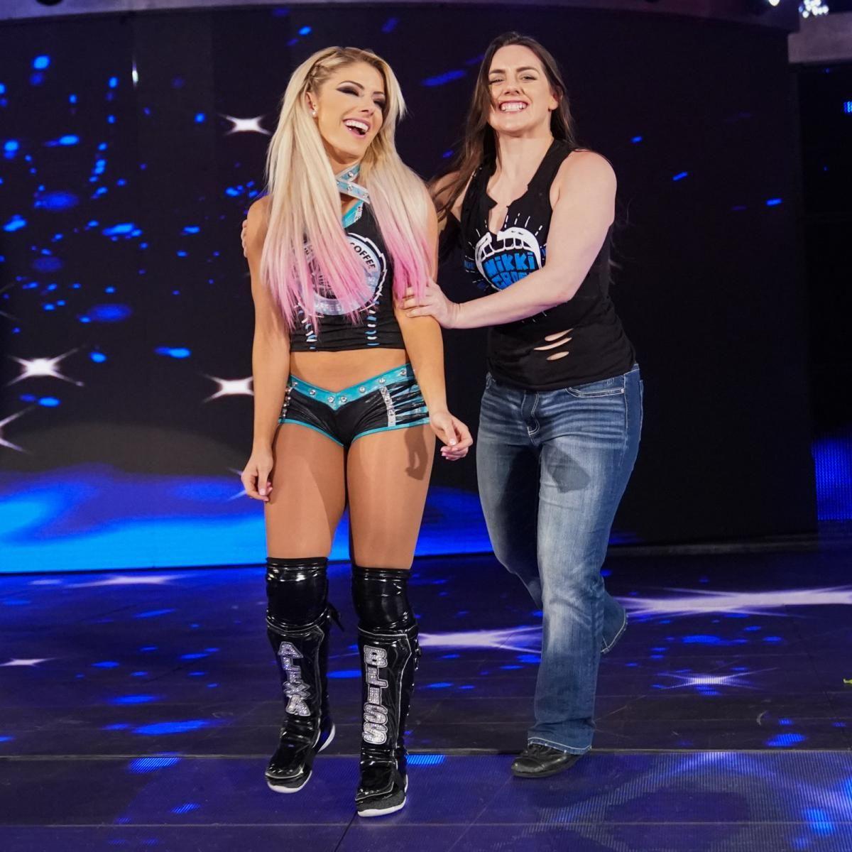 Alexa Bliss en WrestleMania 36