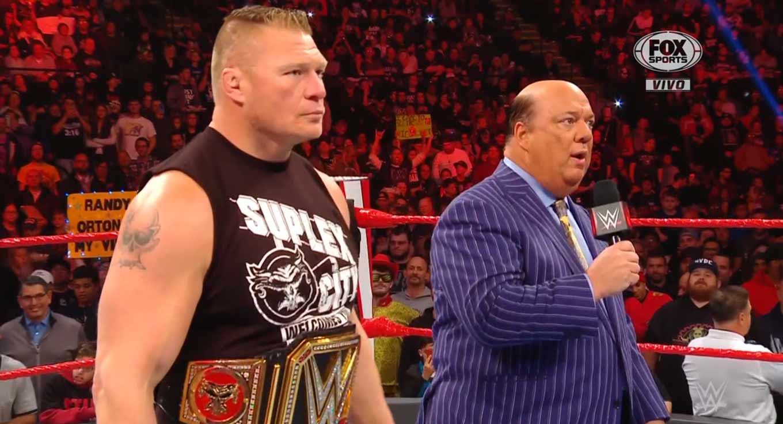 Raw 4 de noviembre 2019