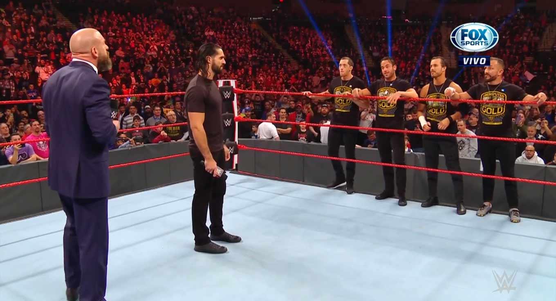 WWE RAW (4 de noviembre 2019) | Resultados en vivo | ¡Invasión NXT! 4