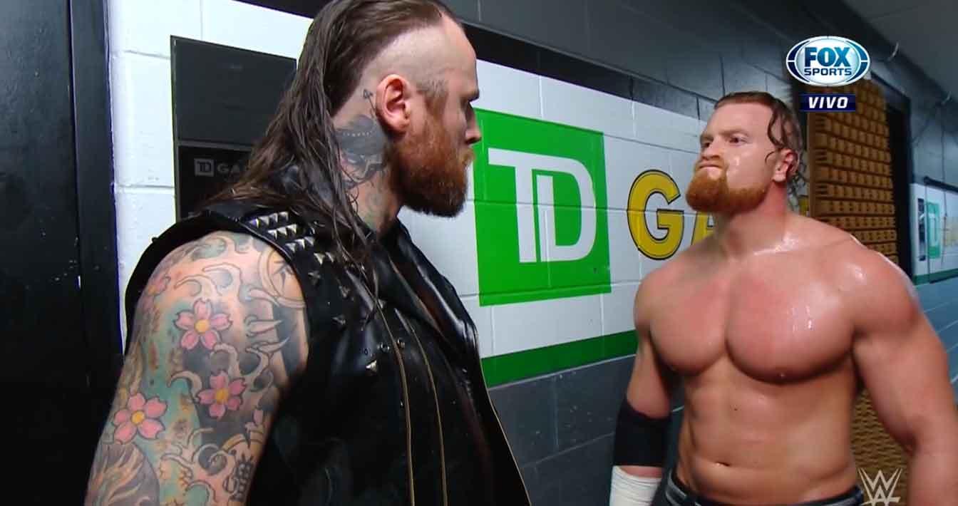 WWE RAW (18 de noviembre 2019) | Resultados en vivo | Seth Rollins vs. Andrade 19