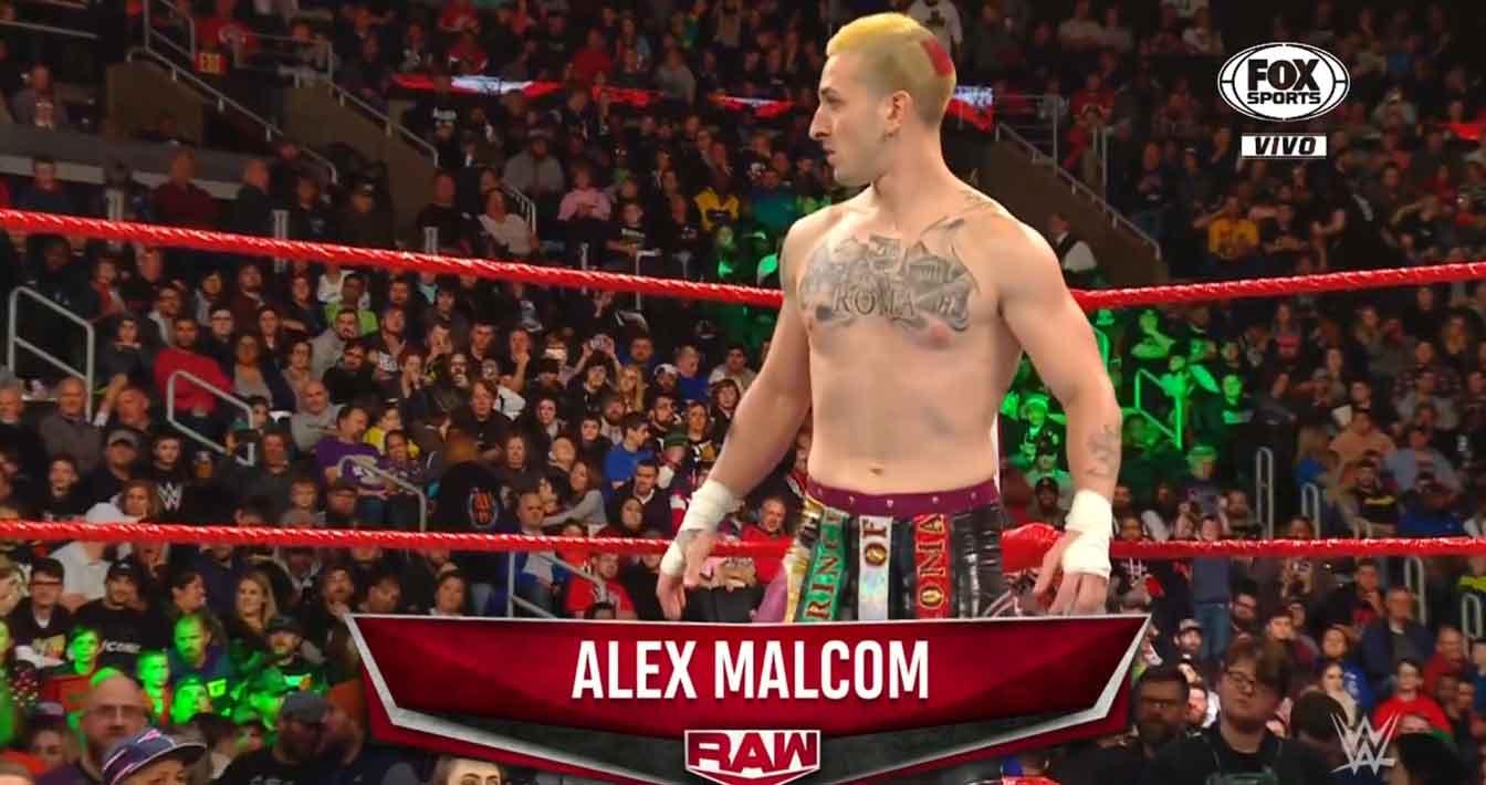 WWE RAW (18 de noviembre 2019) | Resultados en vivo | Seth Rollins vs. Andrade 20