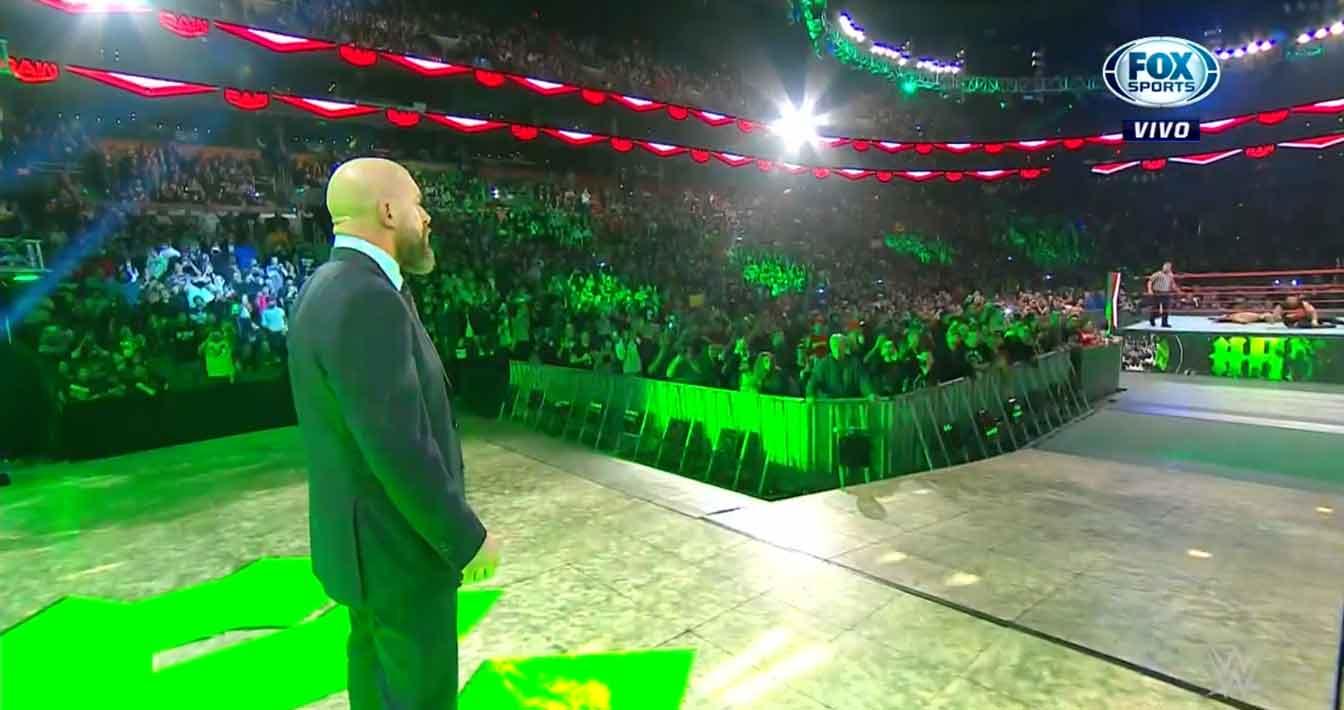 WWE RAW (18 de noviembre 2019) | Resultados en vivo | Seth Rollins vs. Andrade 33