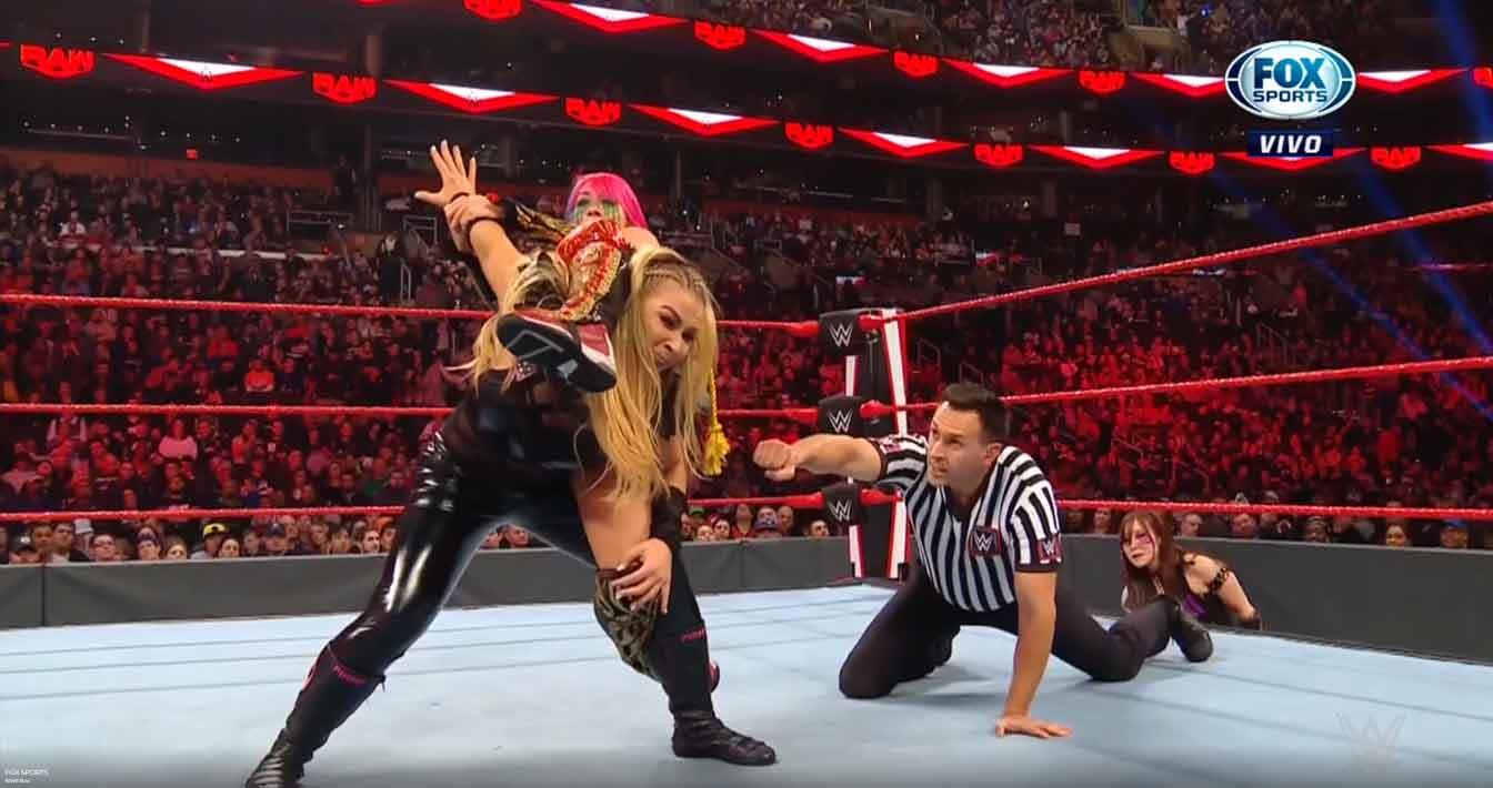 WWE RAW (18 de noviembre 2019) | Resultados en vivo | Seth Rollins vs. Andrade 38