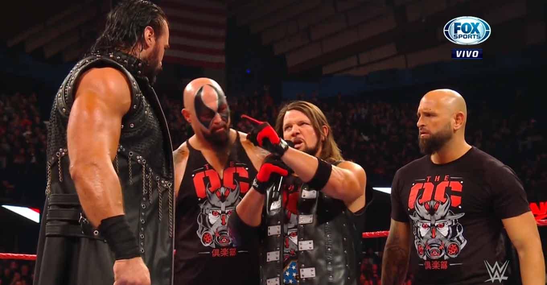 Raw 25 de noviembre 2019