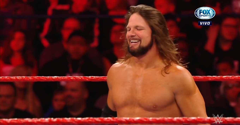 WWE RAW (25 de noviembre 2019) | Resultados en vivo | AJ Styles expone el título ante Humberto Carrillo 12