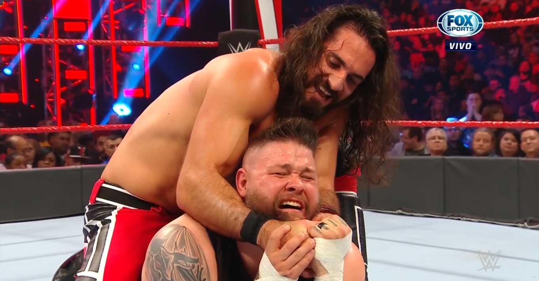 WWE RAW (25 de noviembre 2019) | Resultados en vivo | AJ Styles expone el título ante Humberto Carrillo 32