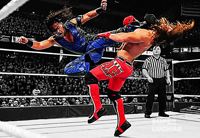 Shinsuke Nakamura vs. AJ Styles