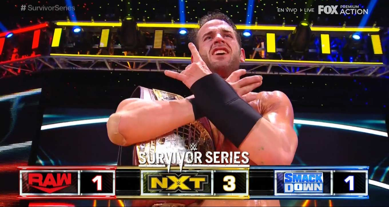 NXT domina a Raw y SmackDown