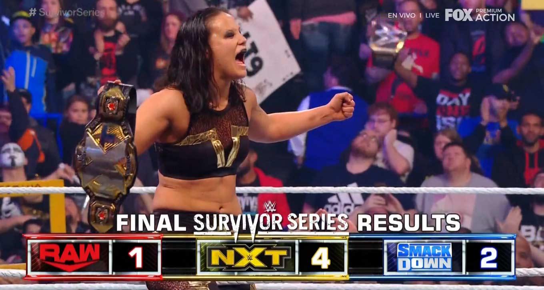 NXT domina a Raw y SmackDown Survivor Series 2019