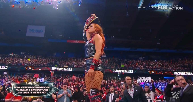 NXT domina a Raw y SmackDown Survivor Series 2019 WWE