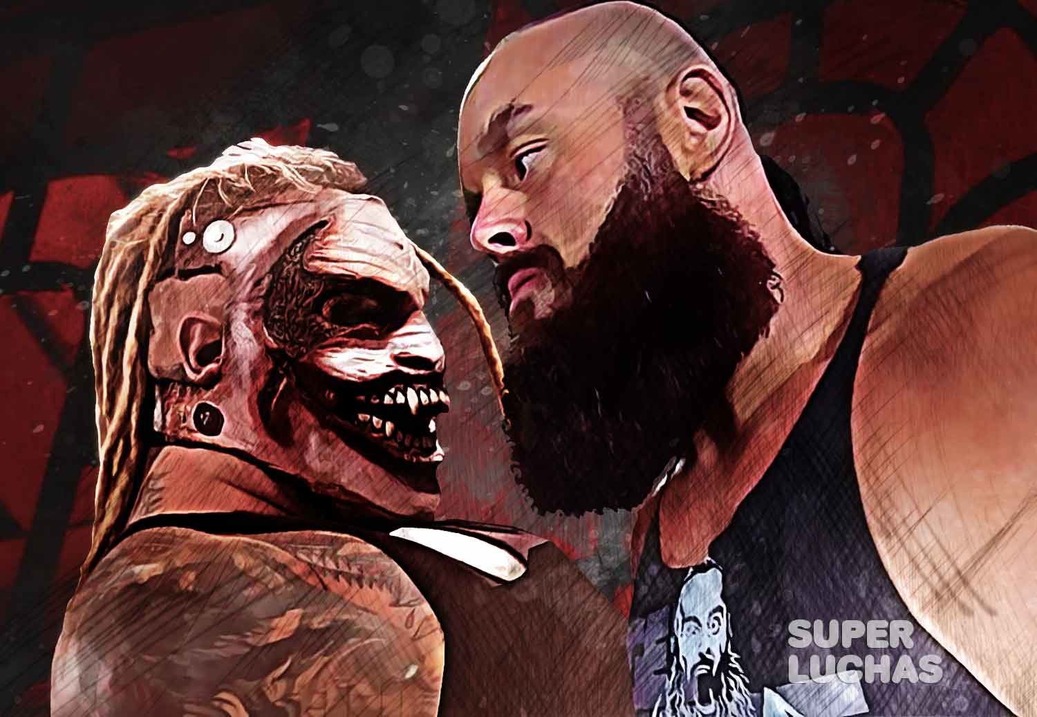 The Fiend vs. Braun Strowman